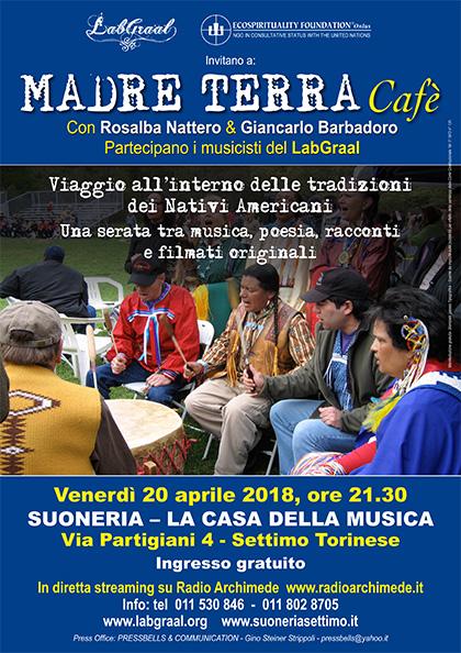 Madre Terra Cafè alla Suoneria di Settimo - Venerdì 20 aprile 2018, ore 21.30