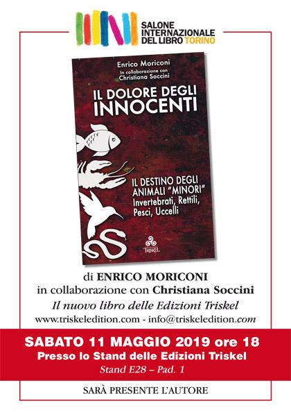 11 maggio 2019 ore 18 - Salone del libro di Torino 2019 - Presentazione del libro Il Dolore degli innocenti