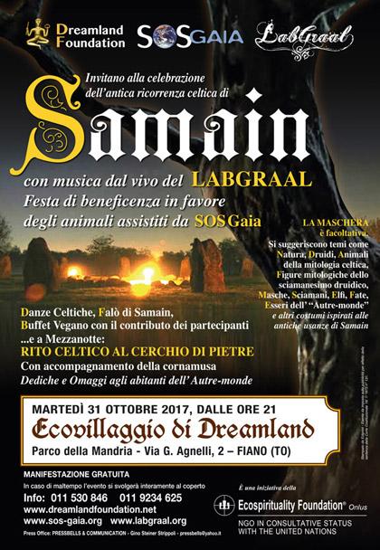 Samain con il LabGraal - 31 ottobre 2017 - Ecovillaggio di Dreamland